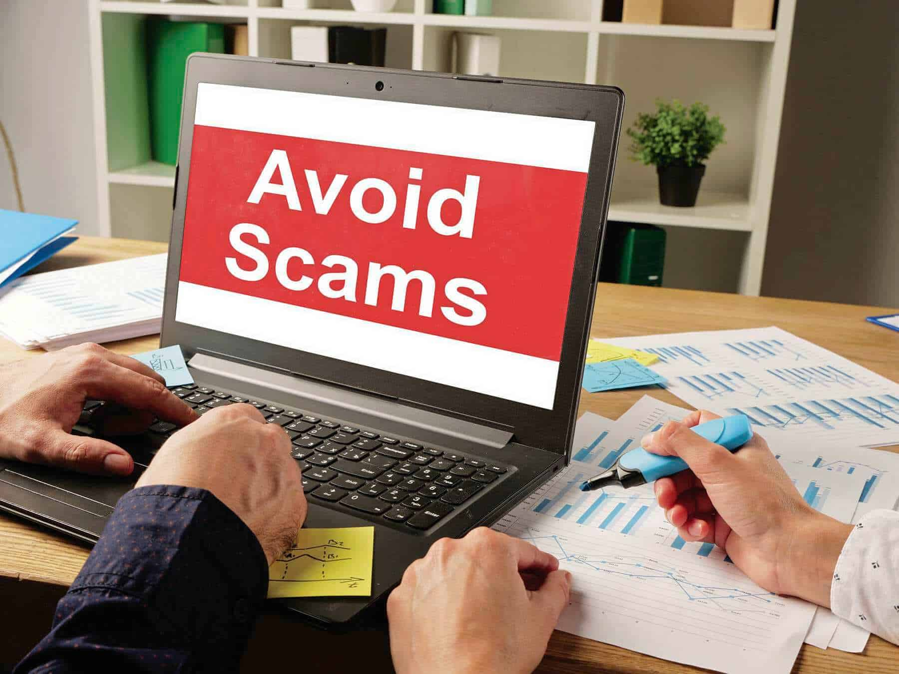 the top 3 ways to recognize and avoid phishing scams